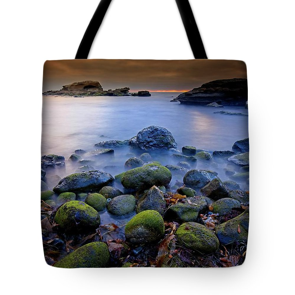 Sunset Tote Bag featuring the photograph Bird Rock Lajolla II by Bill Thomas