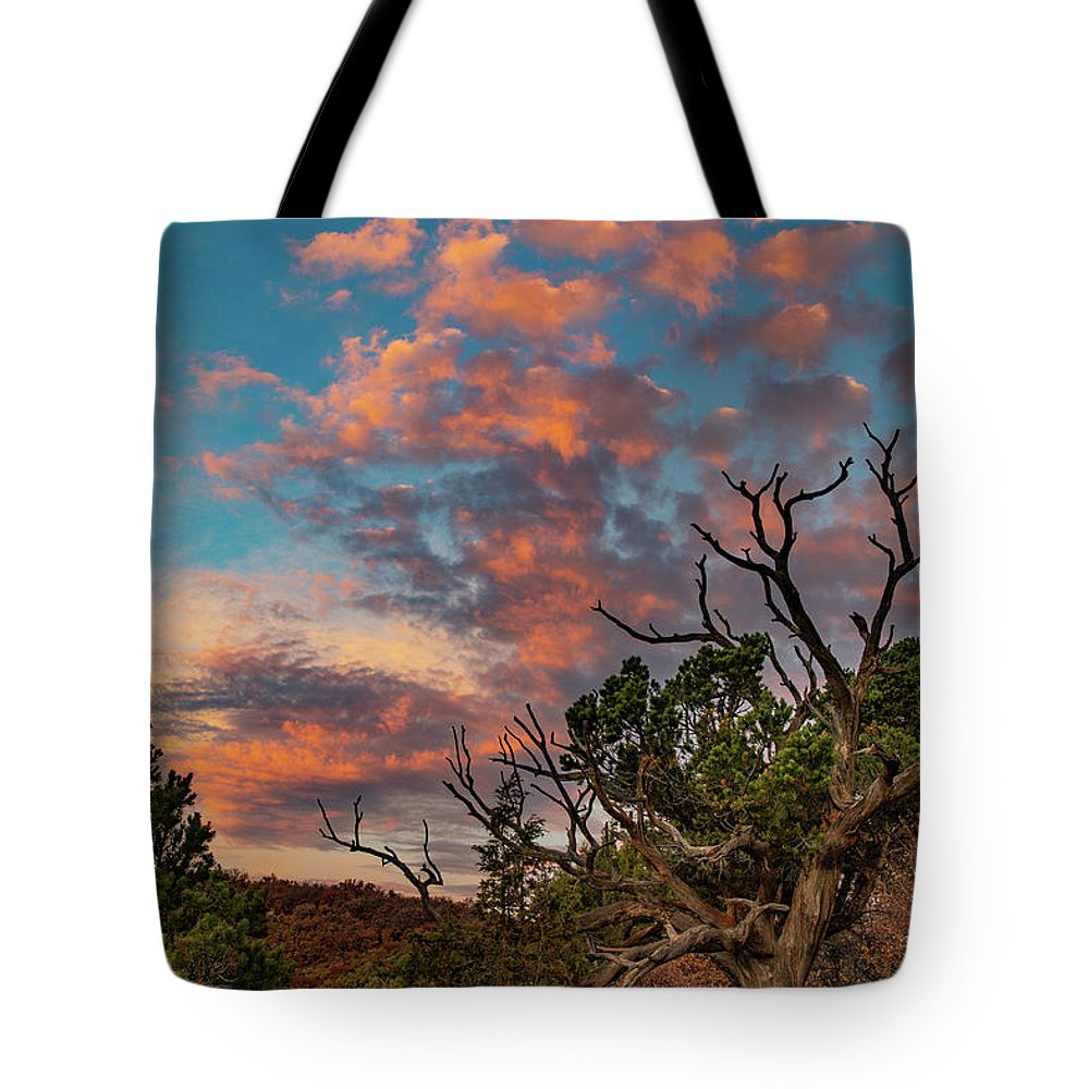 Black Canyon Of The Gunnison Tote Bag featuring the photograph Black Canyon Sunrise by Jim Allsopp