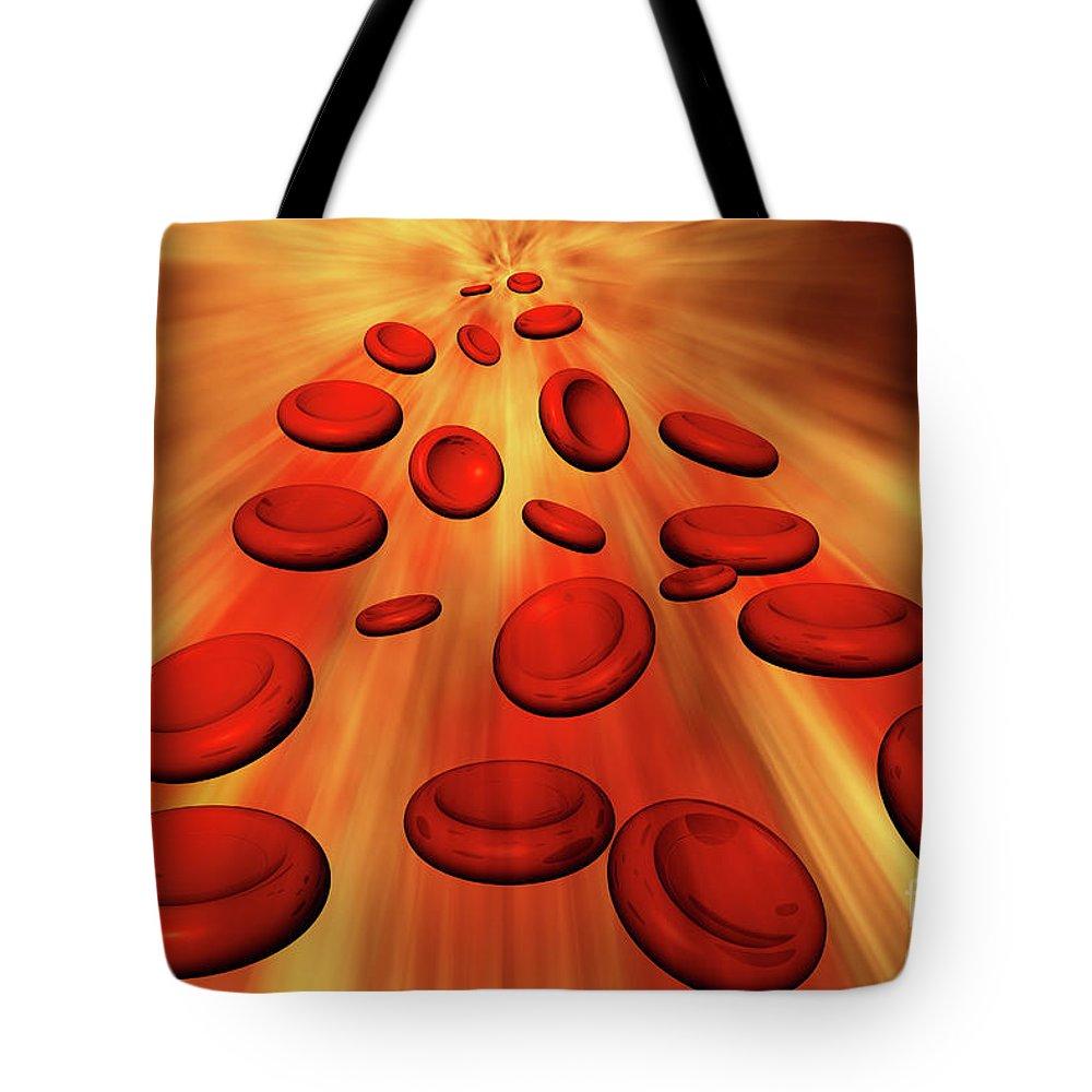 Blood Capillaries Tote Bags Fine Art America