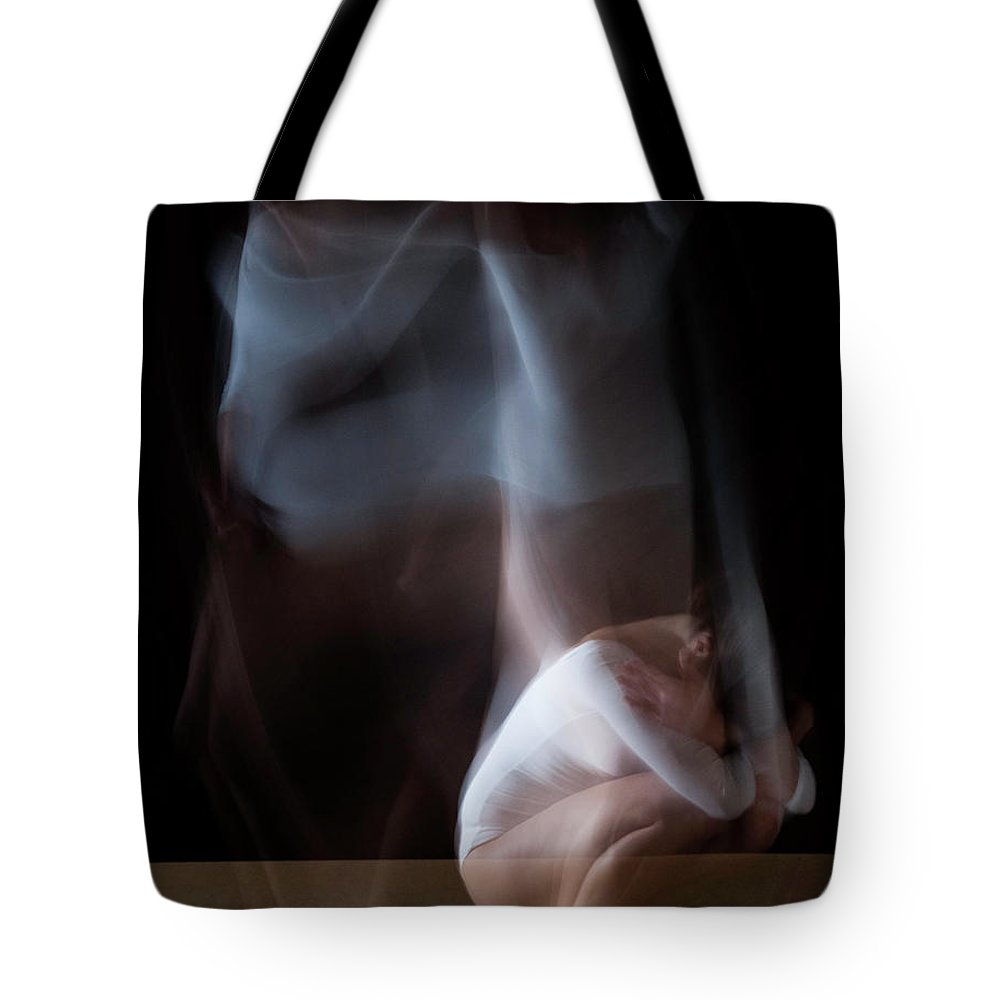 People Tote Bag featuring the photograph Blurred Dance by Emilia Krysztofiak Rua Photography