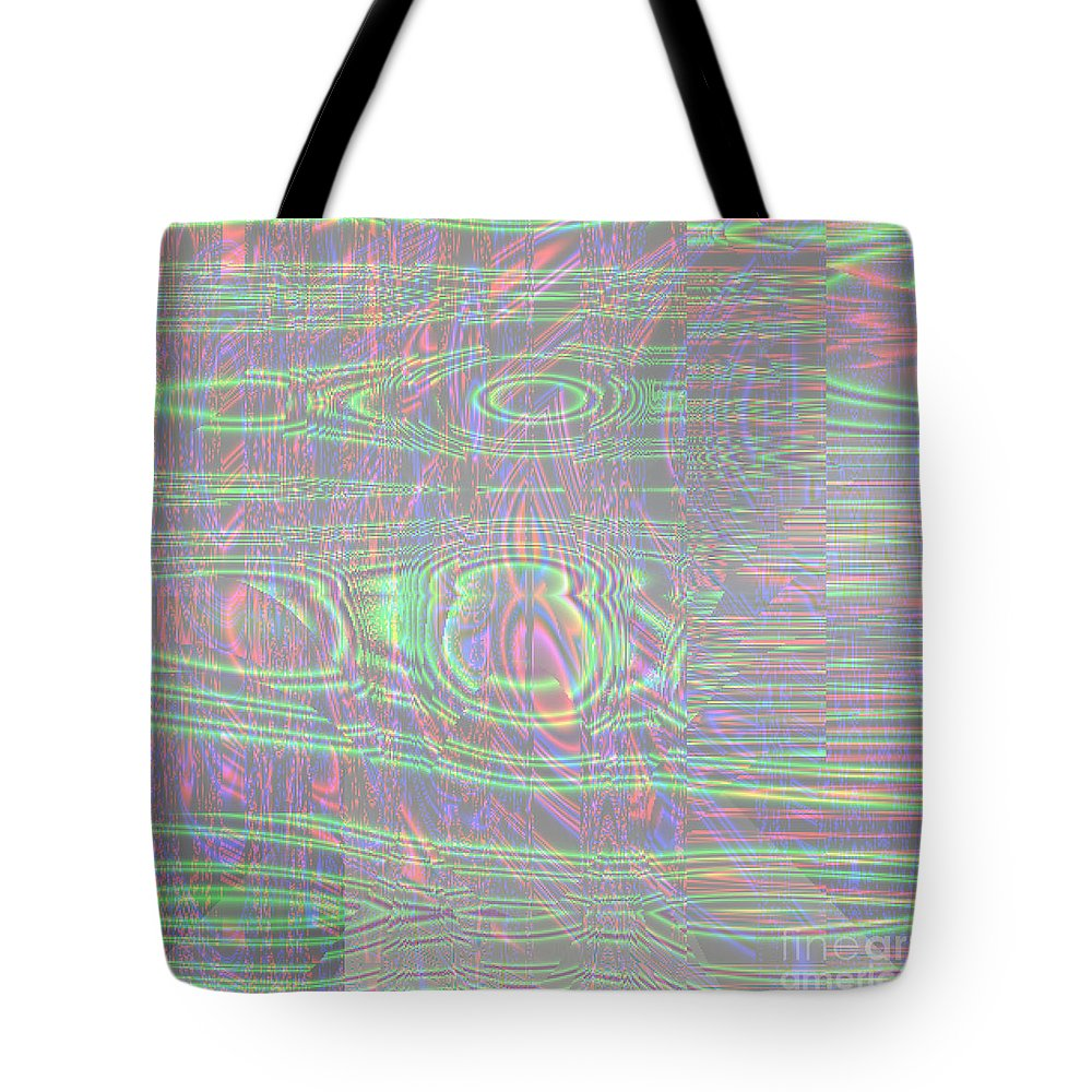 Bright Tote Bag featuring the digital art Bright by Hannah Patel