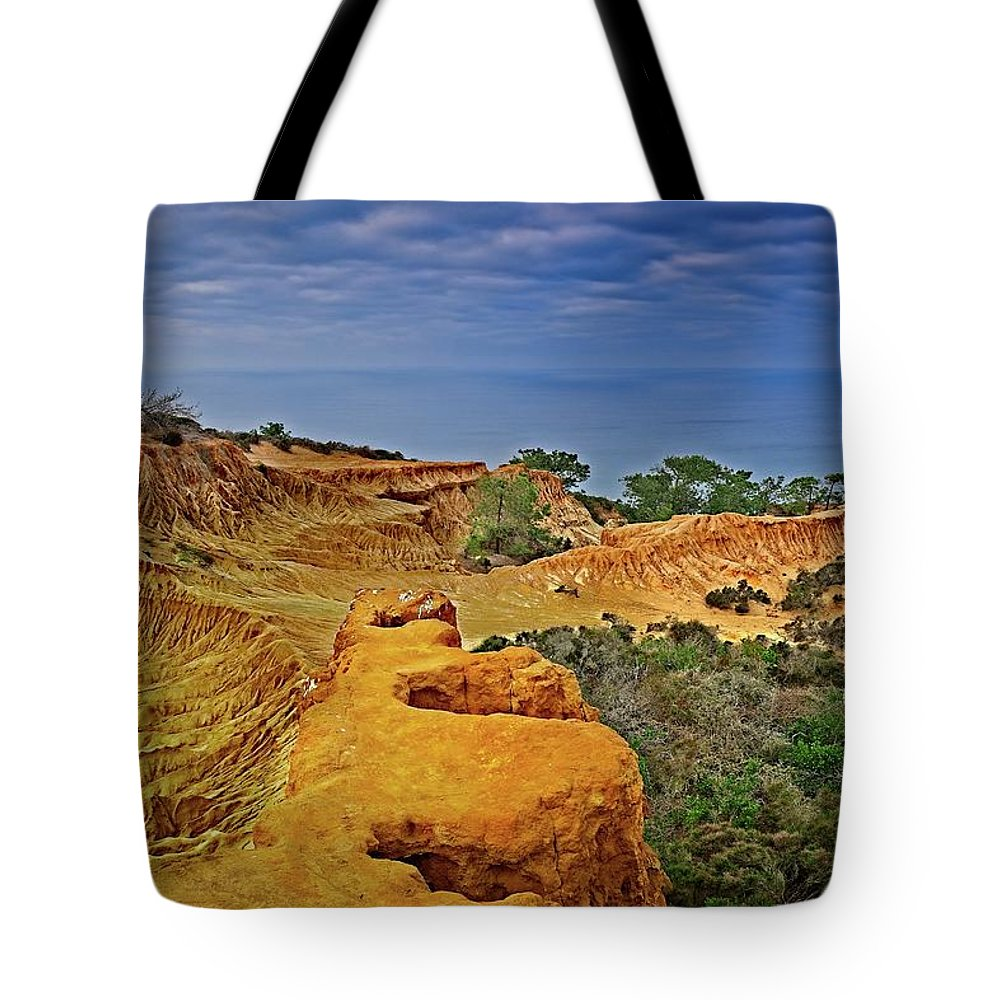 Broken Hill Tote Bag featuring the photograph Broken Hill Panoramic II by Bill Thomas