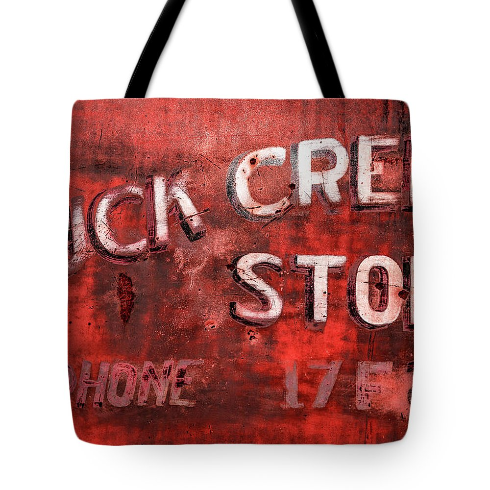 Door Tote Bag featuring the photograph Buck Creek Store by Todd Klassy