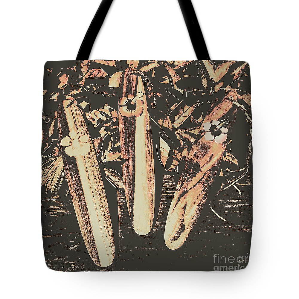 Surf Tote Bag featuring the photograph Bygone Boarding by Jorgo Photography - Wall Art Gallery