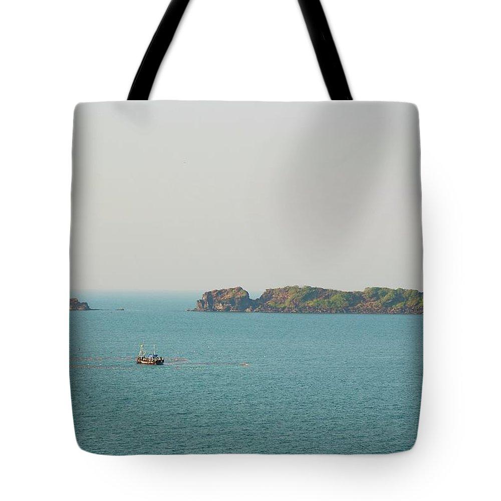 Scenics Tote Bag featuring the photograph Cabo De Rama, Goa by Cranjam