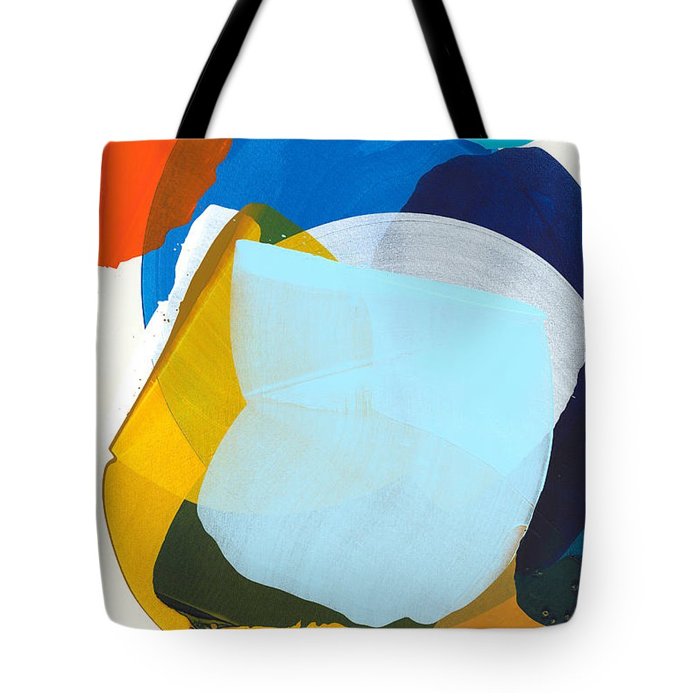Abstract Tote Bag featuring the painting California 05 by Claire Desjardins