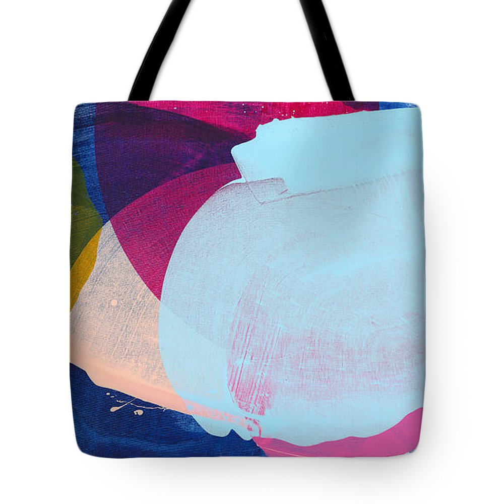 Abstract Tote Bag featuring the painting California 06 by Claire Desjardins