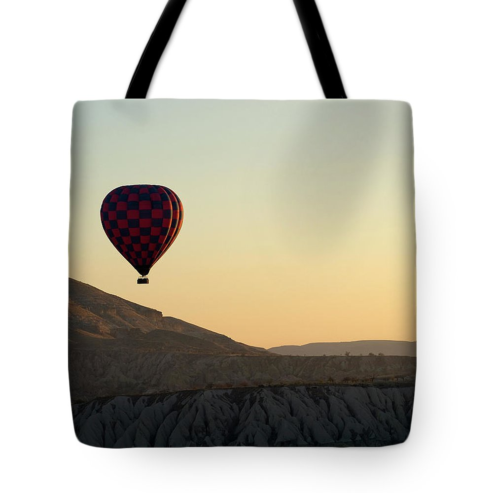 Scenics Tote Bag featuring the photograph Cappadocia Valley by Julian Kaesler