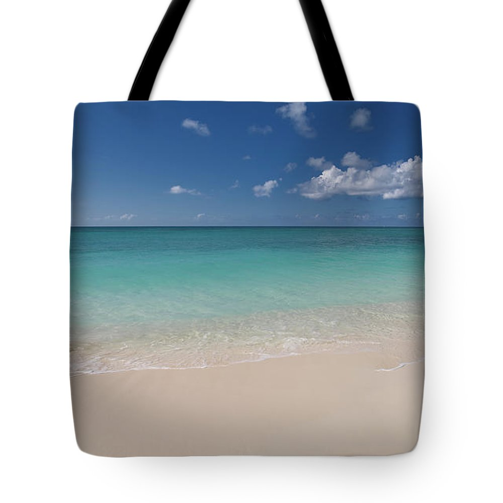 Cayman Islands Tote Bag featuring the photograph Caribbean Paradise - Beach by Dragansaponjic