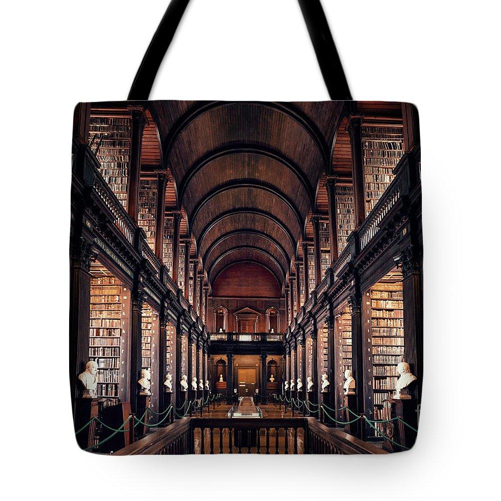 Kremsdorf Tote Bag featuring the photograph Chamber Of Eternal Wisdom by Evelina Kremsdorf