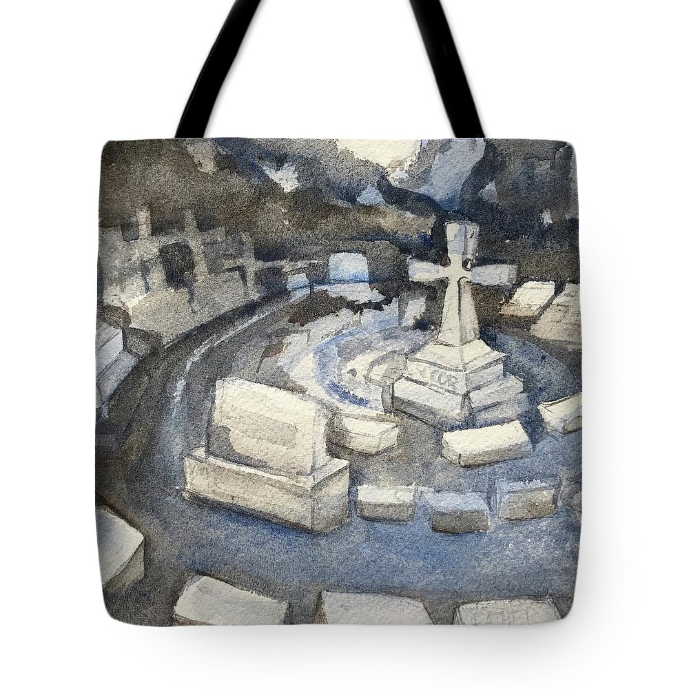 Respect Tote Bag featuring the painting Circle Of Respect by Lynne Bolwell