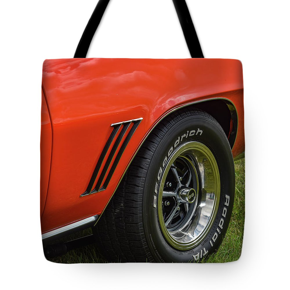 Chevy Tote Bag featuring the photograph Classic Car by Michelle Wittensoldner