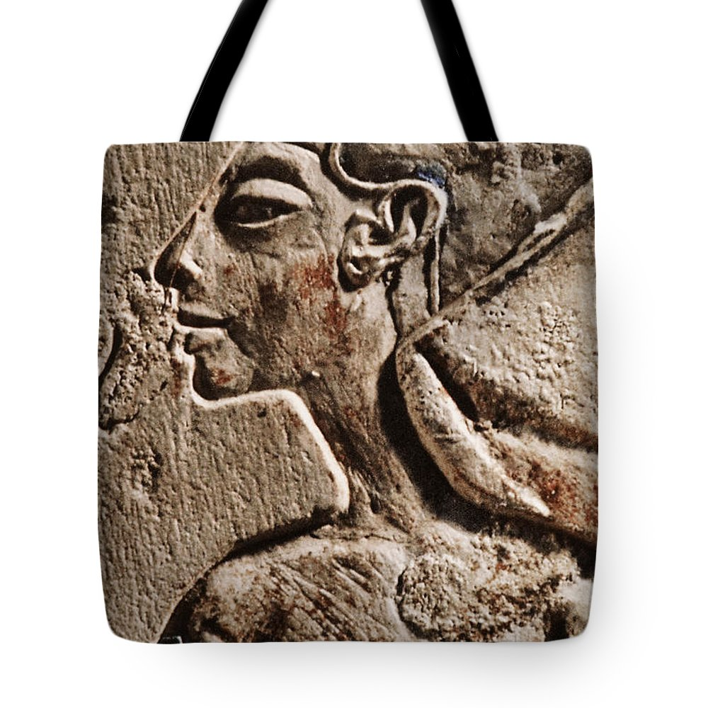 Cleopatra Tote Bag featuring the photograph Cleopatra by Sue Harper