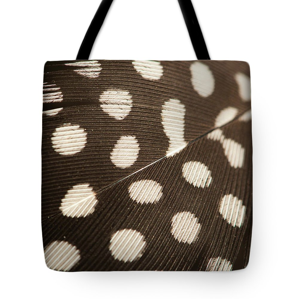 Outdoors Tote Bag featuring the photograph Close Up Feather by Pkg Photography