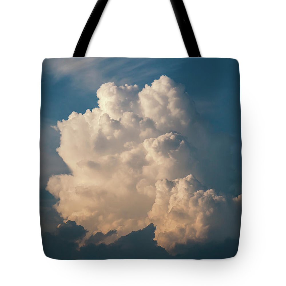 Sky Tote Bag featuring the photograph Cloud On Sky by Dejan Jekic