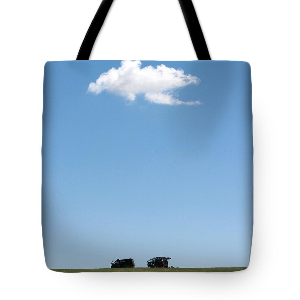 Grass Tote Bag featuring the photograph Cloudy by Wilhelm Bénard