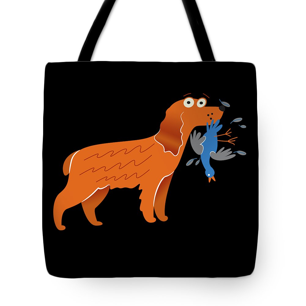 Best-cocker-spaniel Tote Bag featuring the digital art Cocker Spaniel Gift Idea by DogBoo