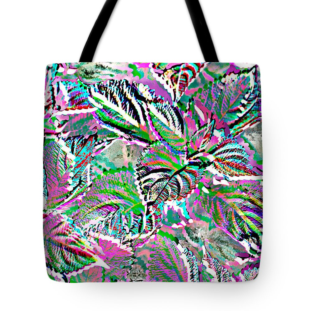 Coleus Tote Bag featuring the photograph Colorful Coleus by Fornalczyk Aleksandra