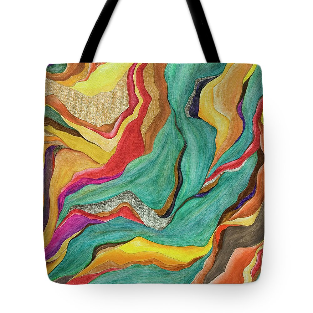 Art Tote Bag featuring the digital art Colors Of Humanity Series by Marthadavies