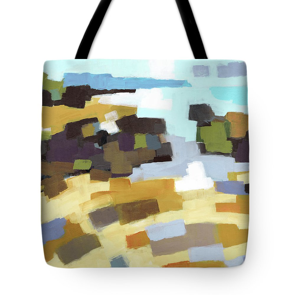 Landscape Tote Bag featuring the painting Conchas Chinas by Douglas Simonson