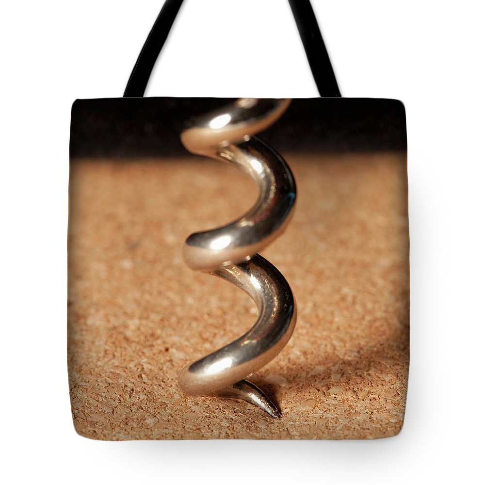 Corkscrew Tote Bag featuring the photograph Corkscrew by Yasuhide Fumoto