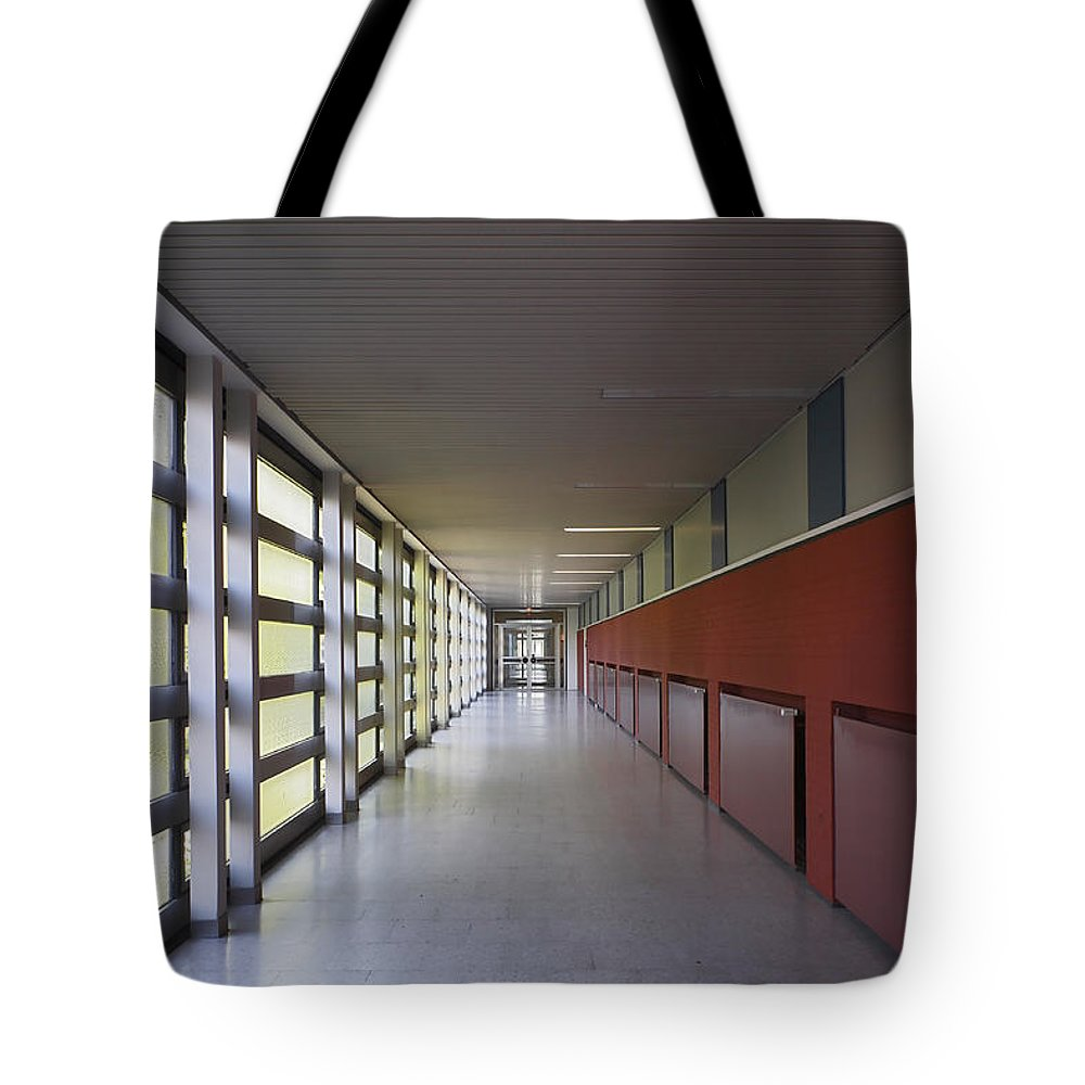 New Business Tote Bag featuring the photograph Corporate Interior by Elkor