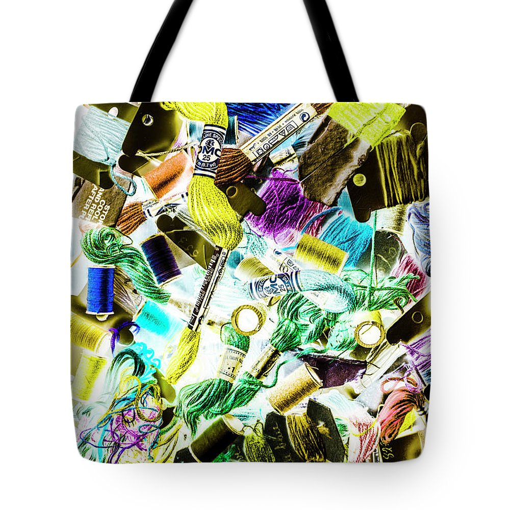 Pop Art Tote Bag featuring the photograph Crafted In Retro by Jorgo Photography - Wall Art Gallery