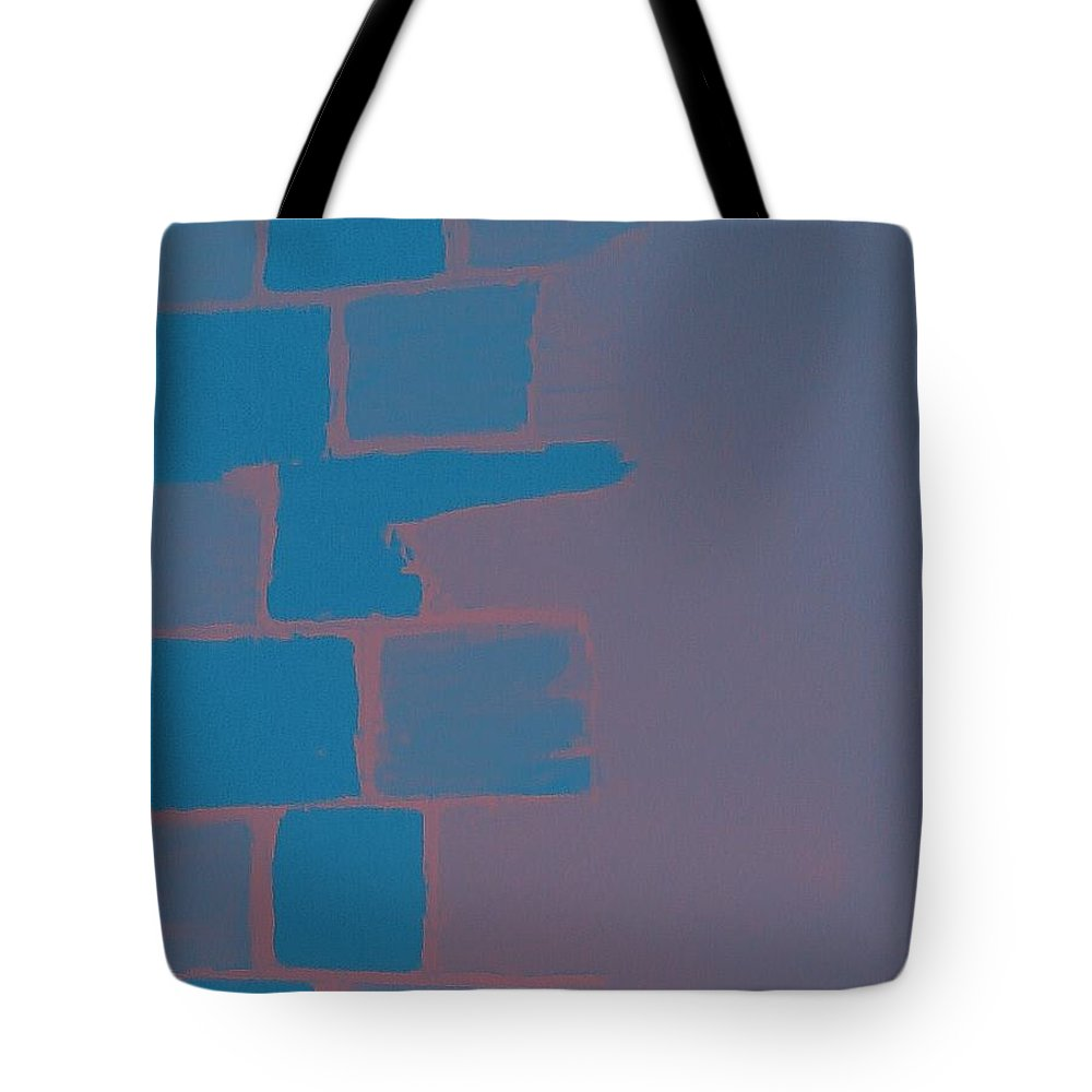 Acrylic Tote Bag featuring the painting Create A Collage-1 by Erma L George