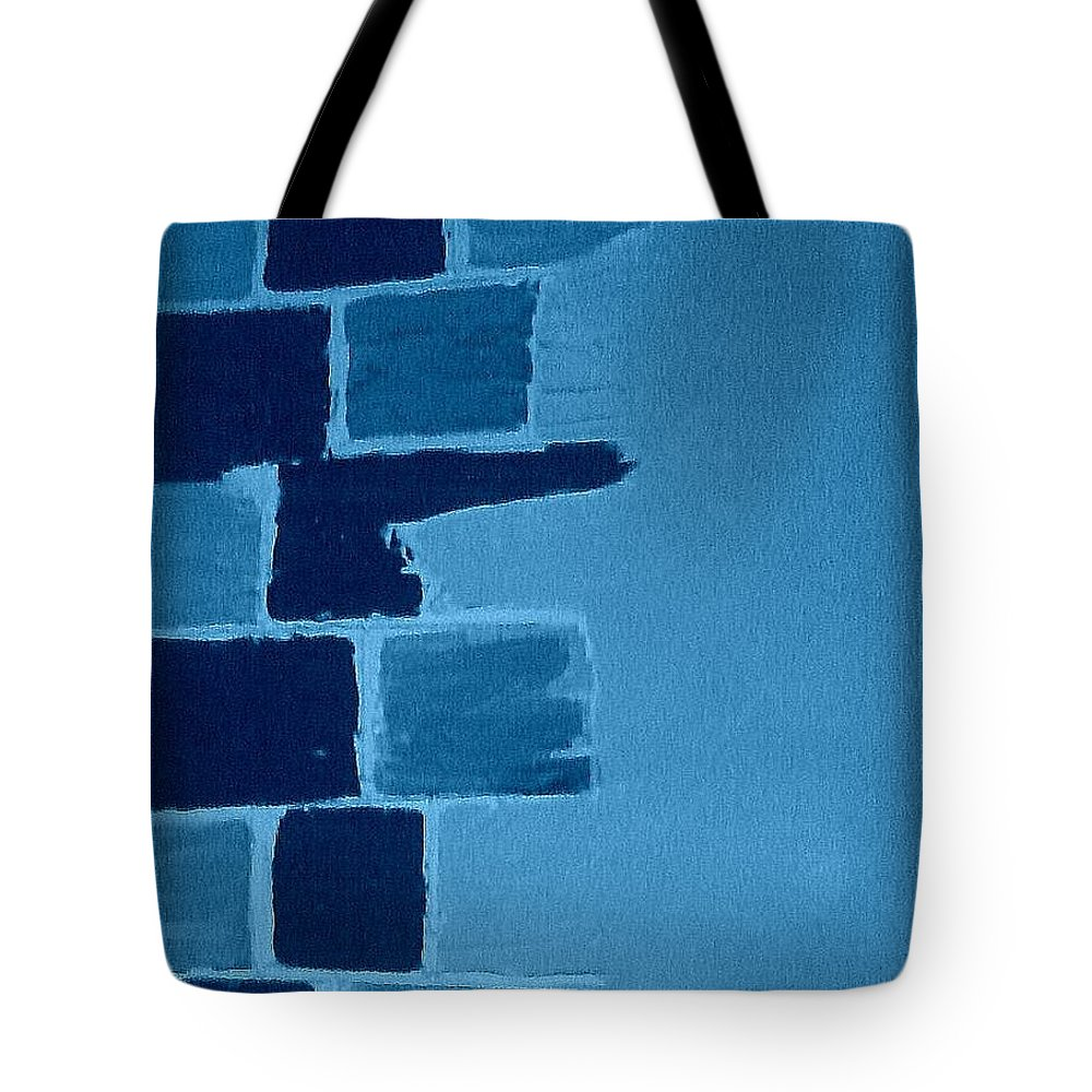 Acrylic Tote Bag featuring the painting Create A Collage-3 by Erma L George