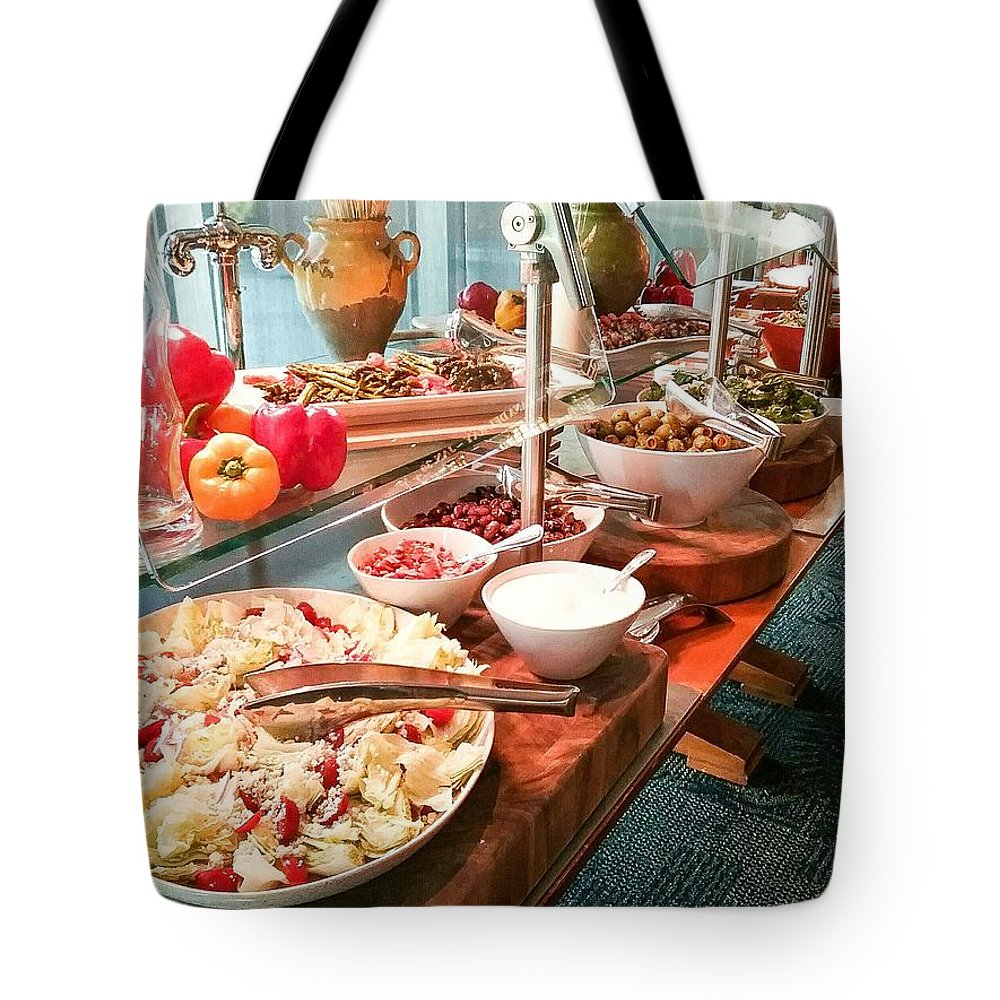 Tote Bag featuring the mixed media Crunch Time by Darnell Ligon