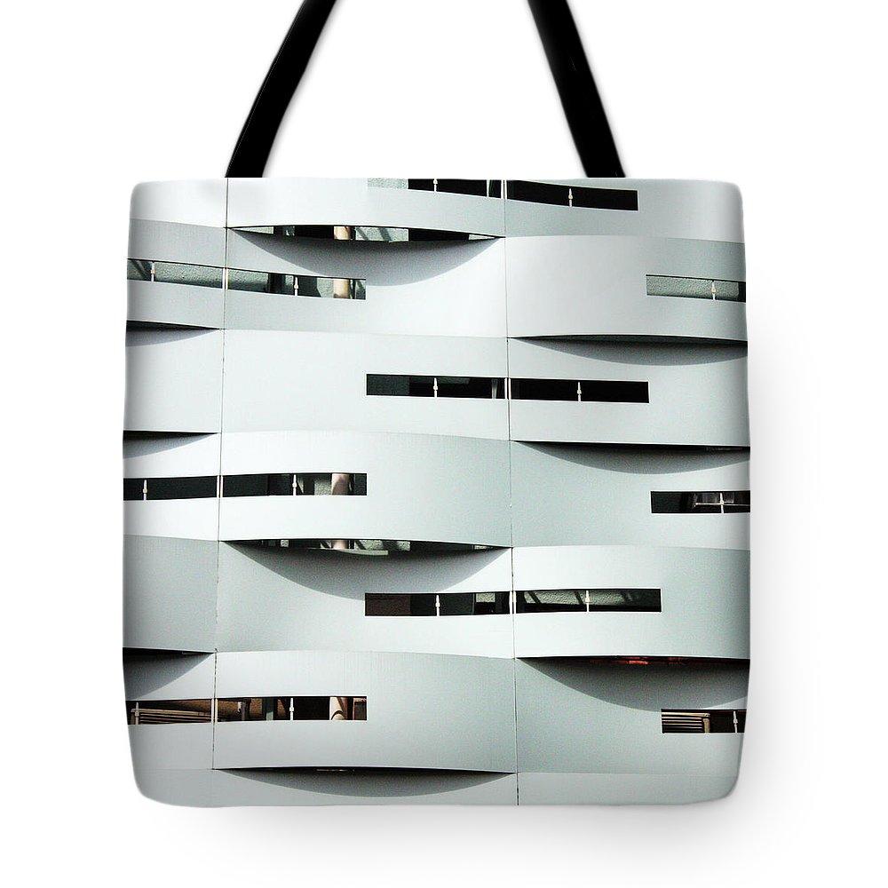 Curve Tote Bag featuring the photograph Curvilinear by Neaz Ahmed