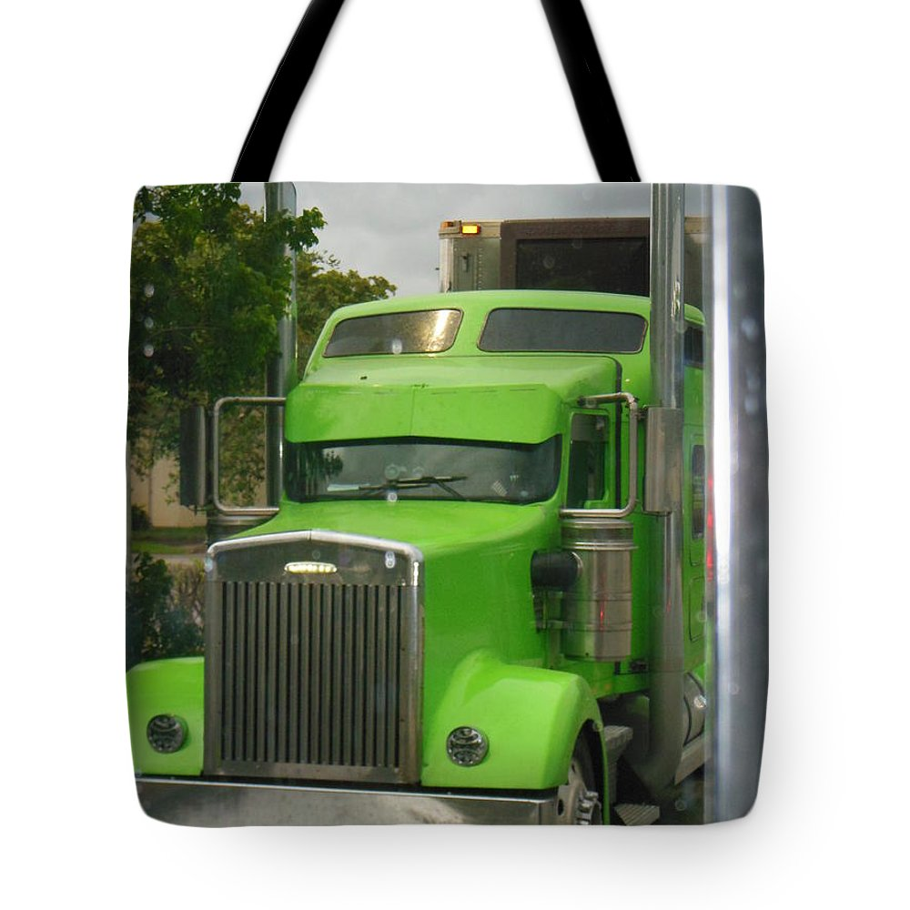 Green Semi Tote Bag featuring the photograph Custom Green Boca by Michael Neil