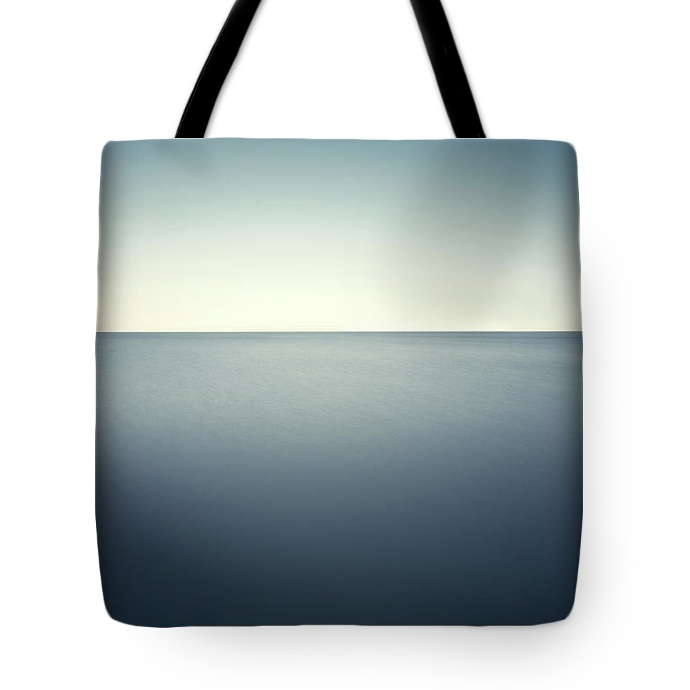 Scenics Tote Bag featuring the photograph Deep Blue Sea by Ppampicture