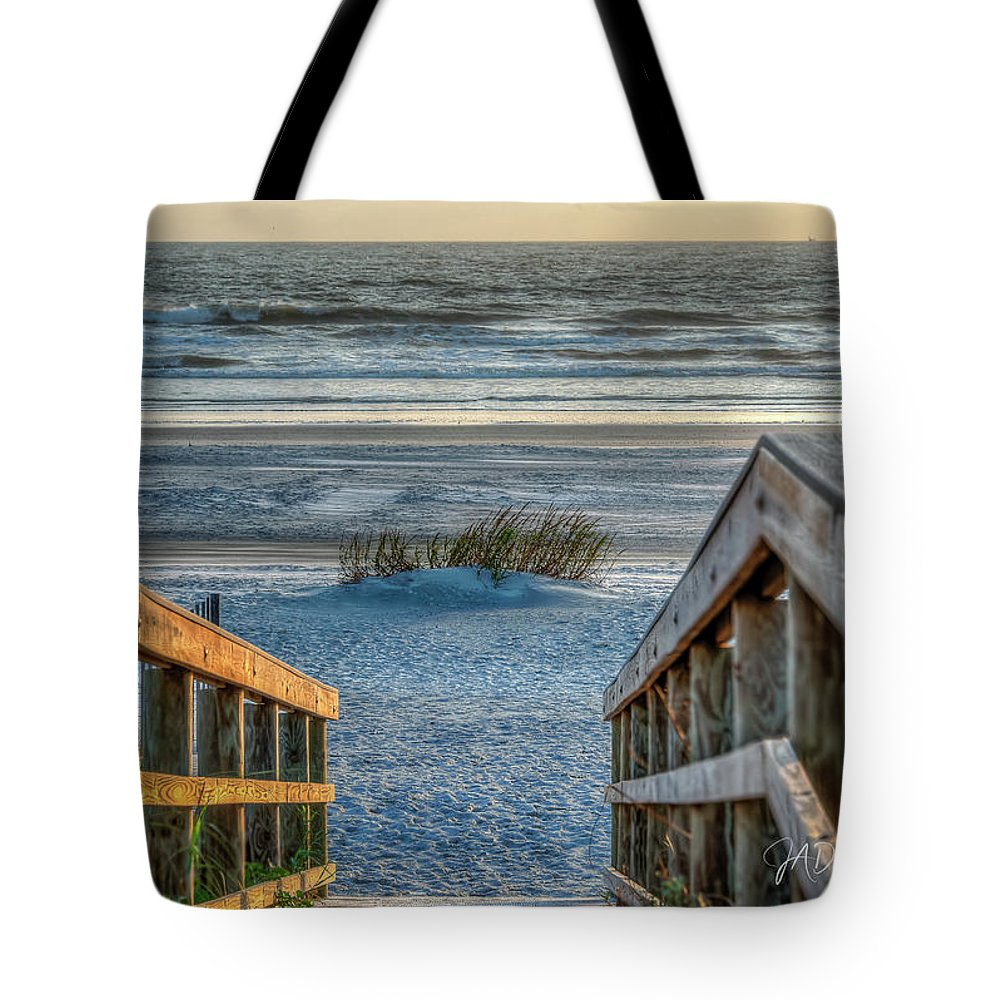 St Augustine Tote Bag featuring the photograph Descent Into Peace by Joseph Desiderio