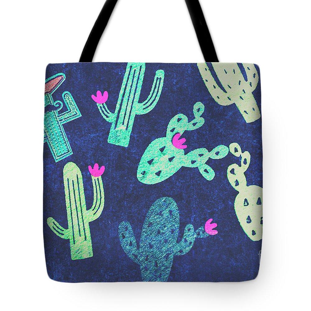 Desert Flora Photographs Tote Bags