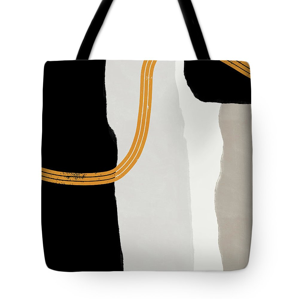Modern Tote Bag featuring the mixed media Destination 6- Art by Linda Woods by Linda Woods
