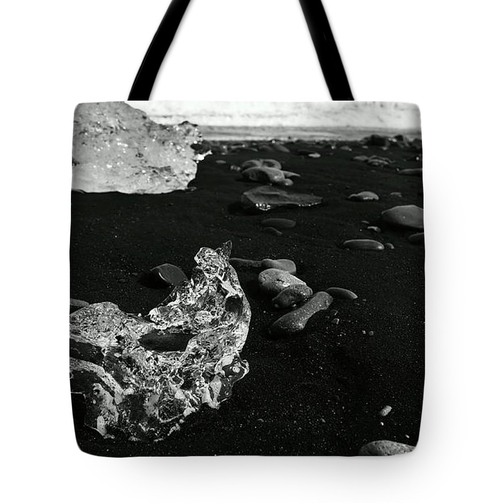 Tote Bag featuring the photograph Diamond Beach Ice 6301904 by Rick Veldman