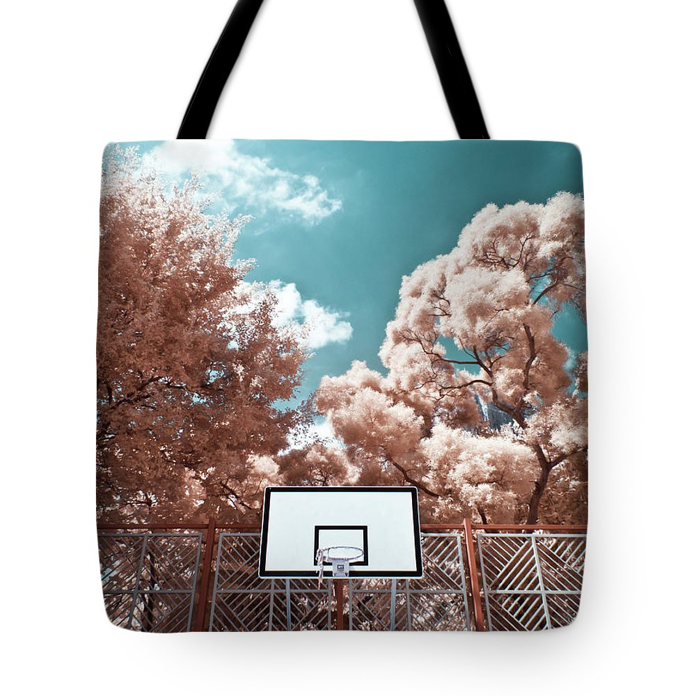 Tranquility Tote Bag featuring the photograph Digital Infrared Photos by Terryprince