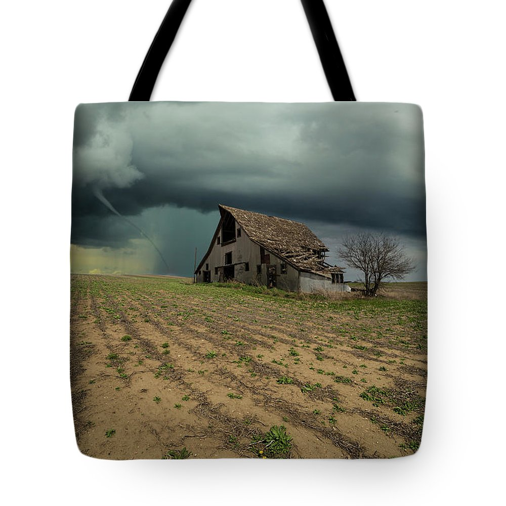 Tornado Tote Bag featuring the photograph Doomsday by Aaron J Groen