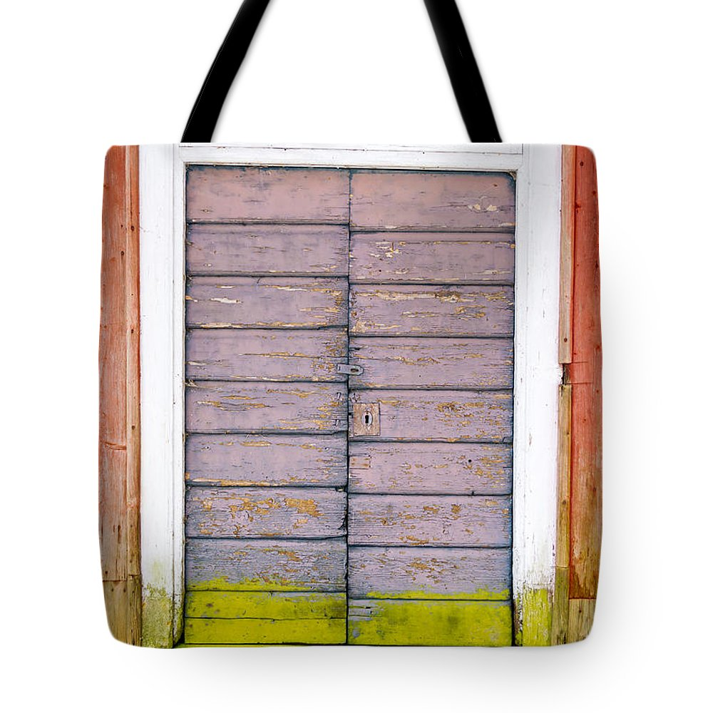 Hinge Tote Bag featuring the photograph Doorway by Reimphoto