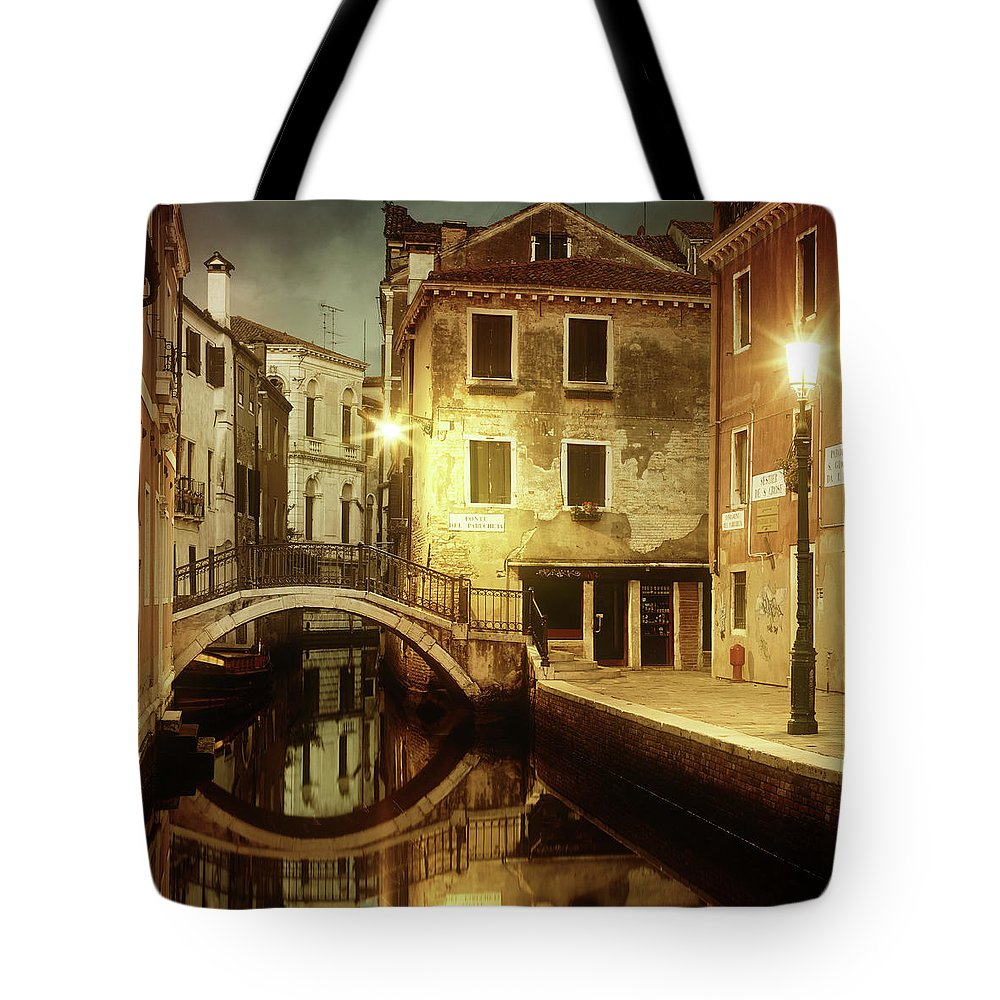 Empty Tote Bag featuring the photograph Dreaming Venice by Mammuth