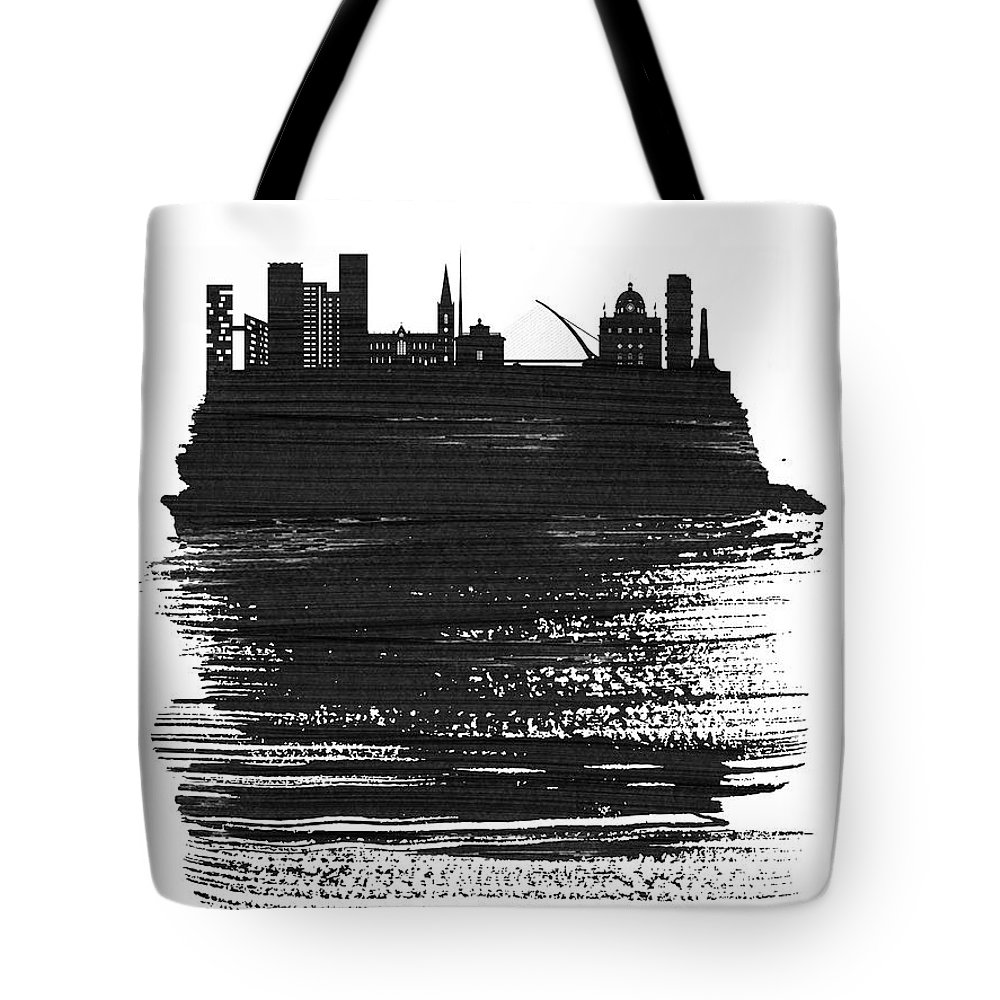 Dublin Mixed Media Tote Bags