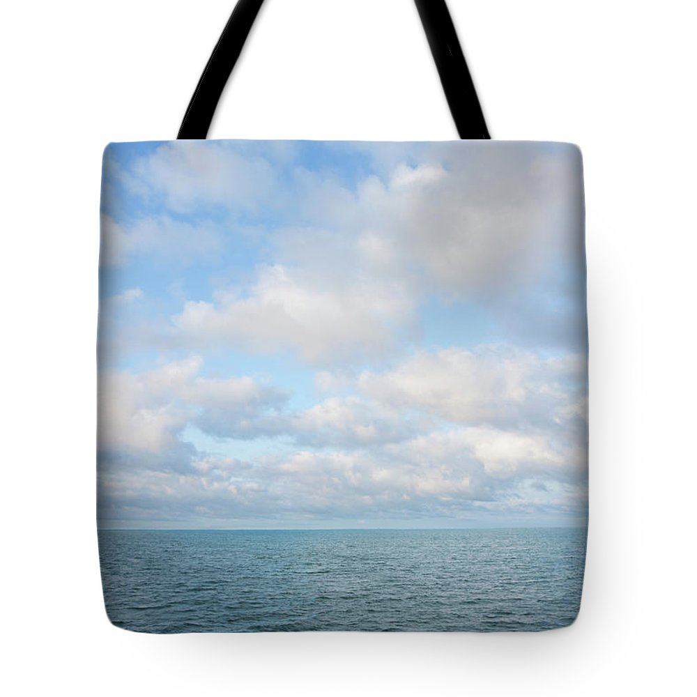 Tranquility Tote Bag featuring the photograph Early Morning, Nantucket Sound by Nine Ok
