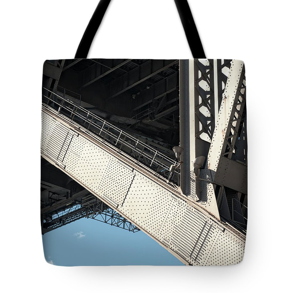 Toughness Tote Bag featuring the photograph Engineered For Strength by Georgeclerk