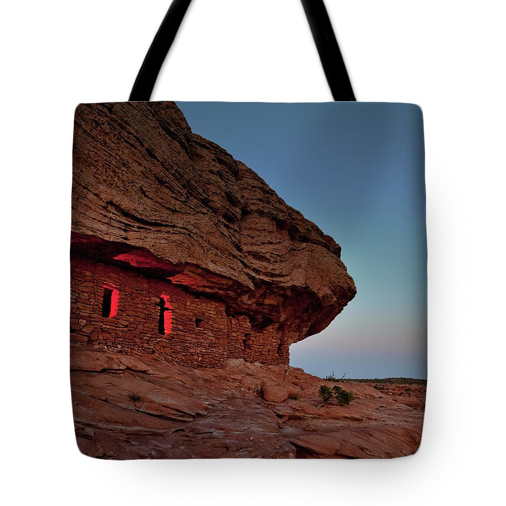 Tranquility Tote Bag featuring the photograph Evening At The Citadel by Doorways To The Past