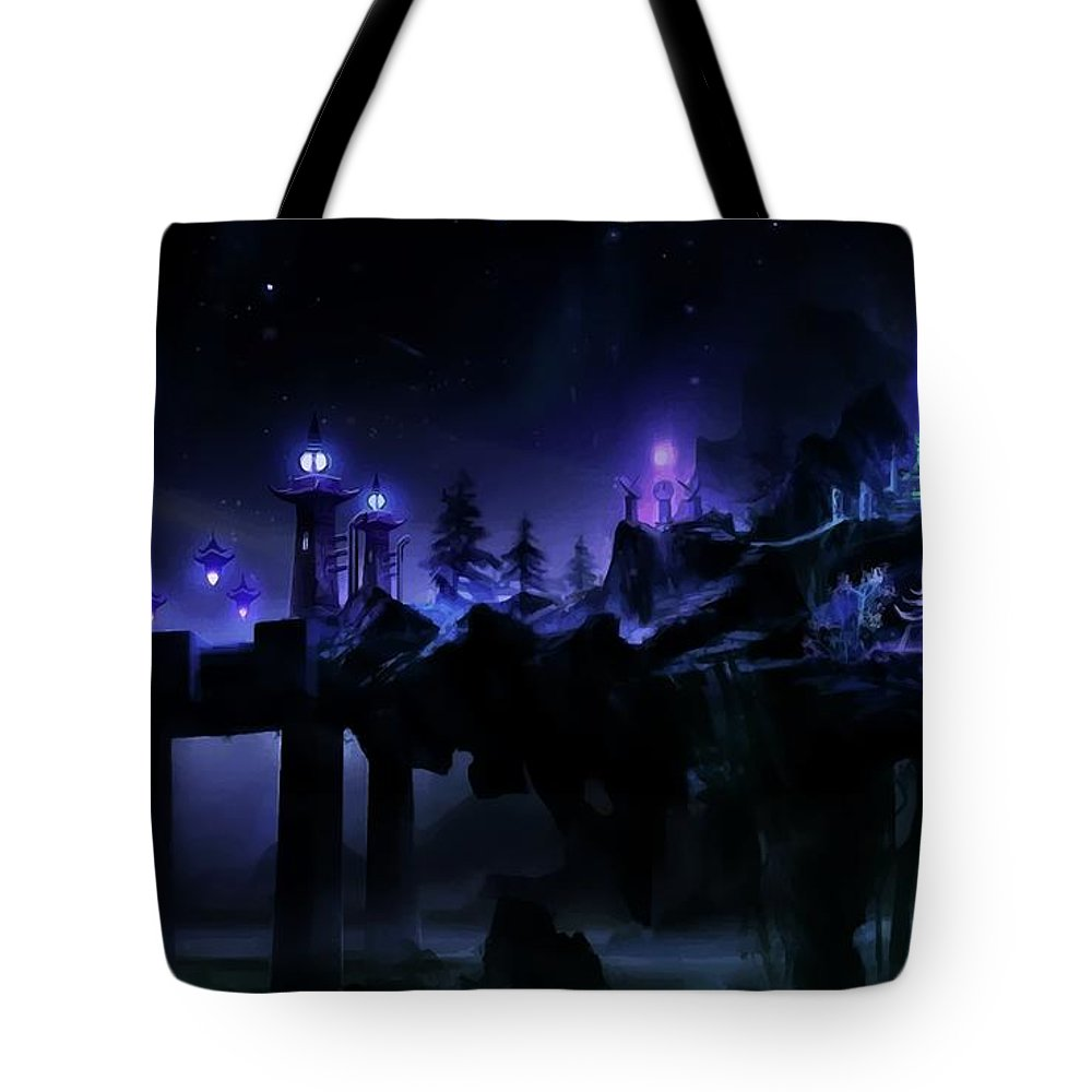 Photography Tote Bag featuring the photograph Fantasy Scene by Dawn Van Doorn