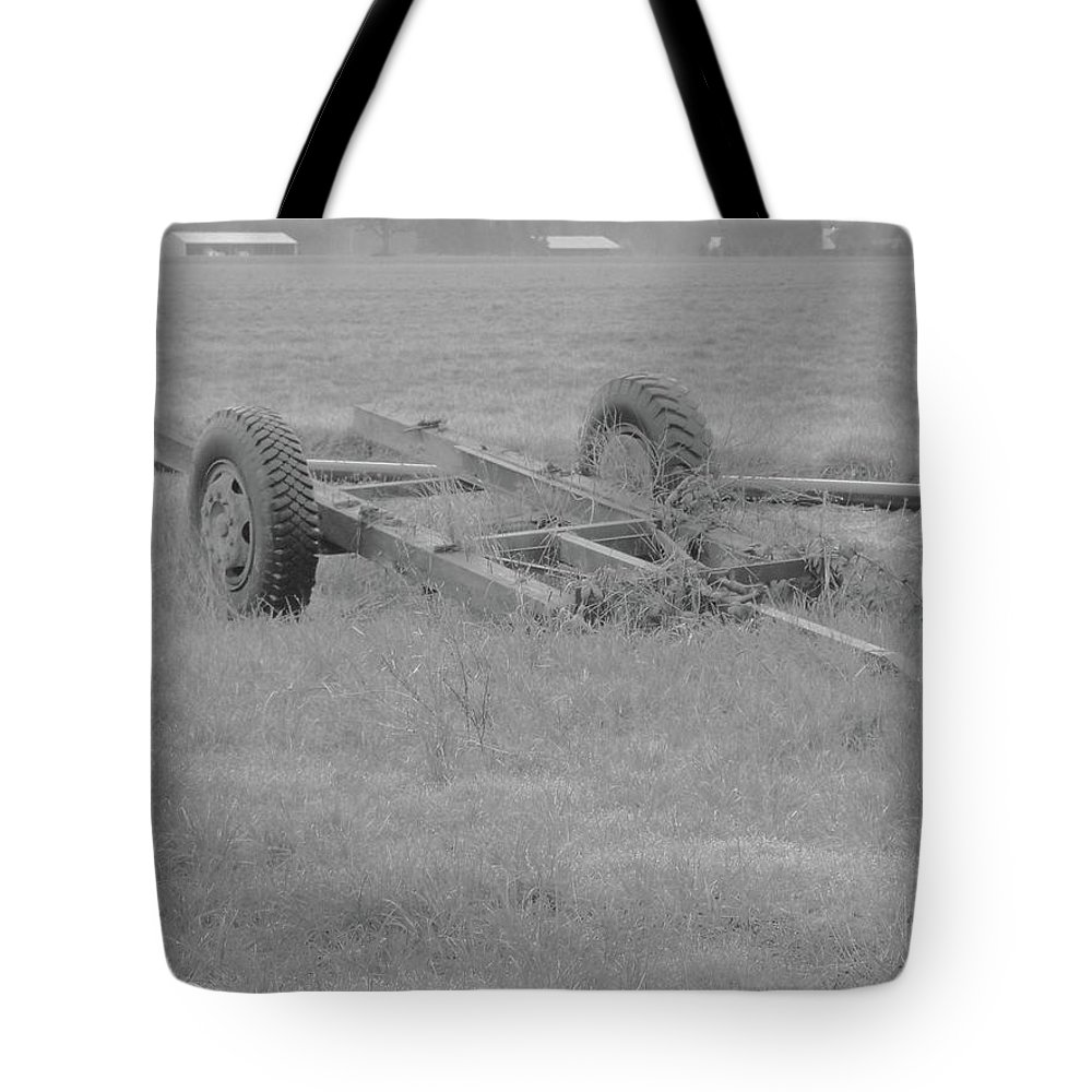 Tote Bag featuring the photograph Farm Equipment by James Harris
