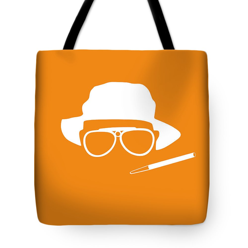 Fear And Loathing In Las Vegas Tote Bag featuring the digital art Fear And Loathing In Las Vegas by Naxart Studio