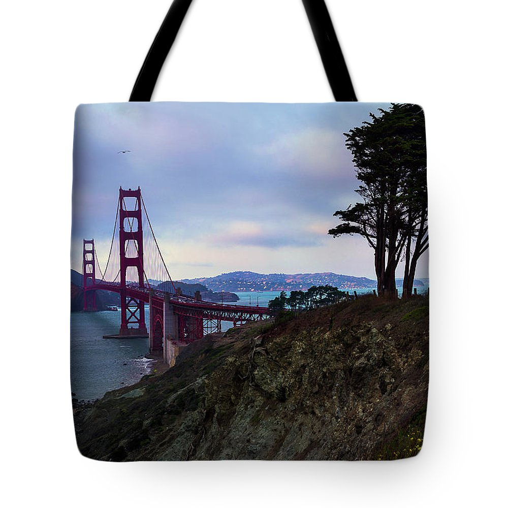 San Francisco Tote Bag featuring the photograph Feel The Wind by Dora Artemiadi
