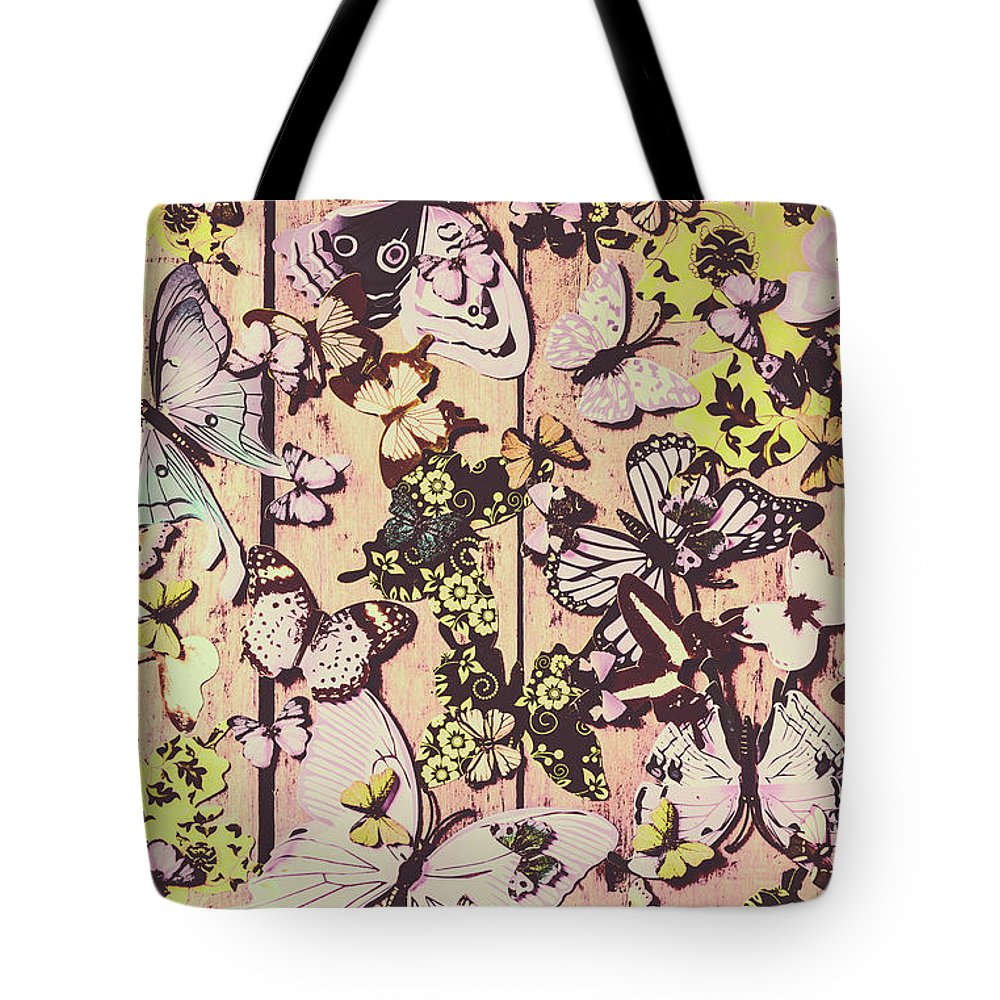 Butterfly Tote Bag featuring the photograph Flight Patterns by Jorgo Photography - Wall Art Gallery